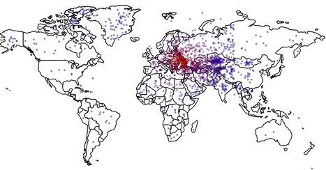 ¿Existe una relación entre el conocimiento de geografía y la actitud bélica?   Nuevas Geografías   Scoop.it