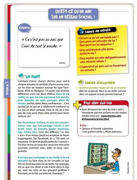 CNIL : 13 fiches pédagogiques pour internet | Time to Learn | Scoop.it