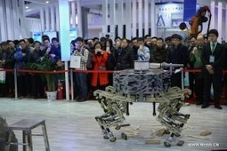 Pékin développe des robots anti-terroristes   La guerre des robots   numerivrac   Scoop.it