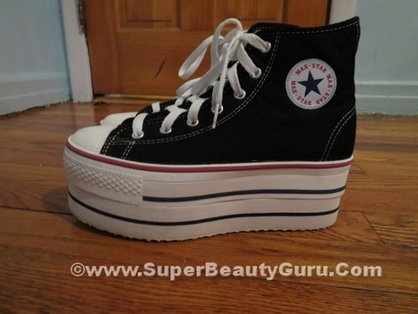 Double Platform Sneakers Review and Outfit - Super Beauty Guru | The Super Beauty Guru | Scoop.it
