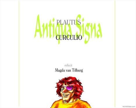 Adaptation en BD de « Curculio » de Plaute à lire en ligne | Literatura latina | Scoop.it
