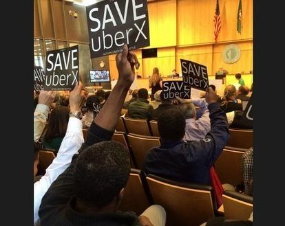 Saving UberX: Does Social Media Make an Impact? | Taxi | Scoop.it
