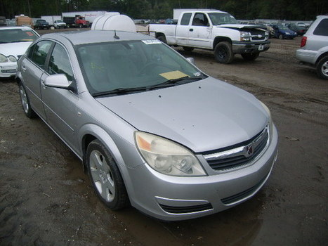 Salvage 2007 silver Saturn Aura Xe with VIN 1G8ZS57N07F120608 on auction | VEHICLES on Auction | Scoop.it