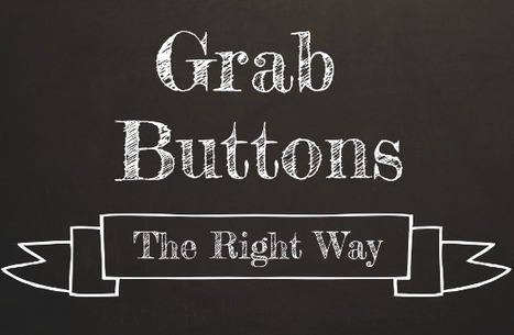 Make an HTML Grab Button for Your Blog | Social Media Magic | Scoop.it