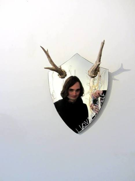 "Wela, mirror: ""I Love Myself"" | Art Installations, Sculpture, Contemporary Art | Scoop.it"