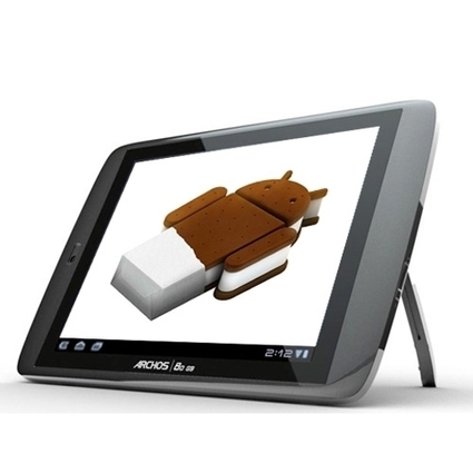 4 tablets set to get Android 4 Ice Cream Sandwich update | Do The Robot | Scoop.it