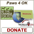 Bunny's Blog: Be the Change for Pets: Paws 4 OK   Pet News   Scoop.it