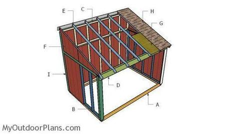 Horse Shed Roof Plans | MyOutdoorPlans | Free Woodworking Plans and Projects, DIY Shed, Wooden Playhouse, Pergola, Bbq | Garden Plans | Scoop.it