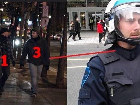 Montréal: Masked cops go on violent rampage during undercover operation | Archivance - Miscellanées | Scoop.it