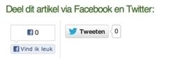Social Media Buttons - hoe zet je ze goed in? - SocialMediaBlog.nl | Sociale media | Scoop.it