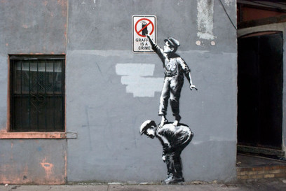 Banksy announces a month long takeover of the walls of New York | D_sign | Scoop.it