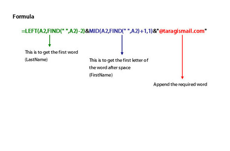 How to pull the first letter of a word in Excel   Taragis.Com   Microsoft Excel   Scoop.it