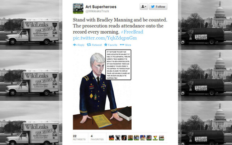 The WikiLeaks Truck Is Still Rustling Jimmies at Bradley Manning's Trial   Politics, Liberties and Rights   Scoop.it