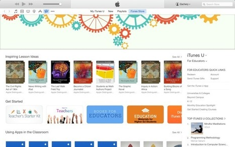 Apple offers 'For Educators' collection of App Store, iBooks, & iTunes U educational resources - 9TO5Mac | teaching with technology | Scoop.it