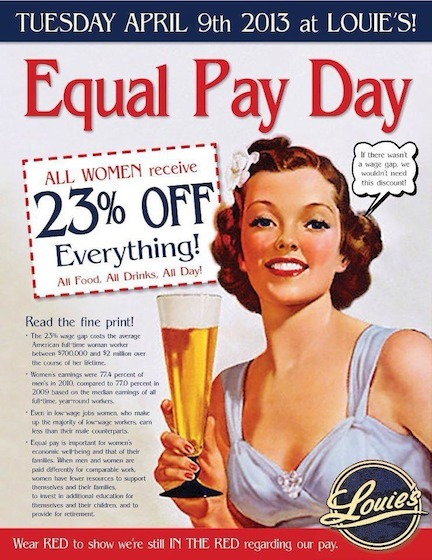 Wear Red and Celebrate Pay Equality! | Coffee Party Feminists | Scoop.it