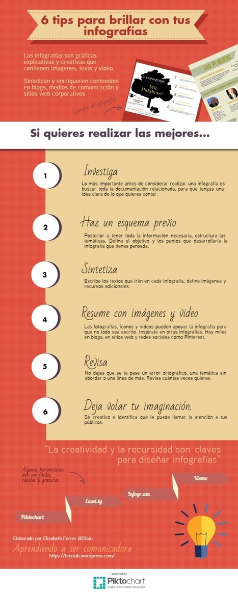 Infografías - 6 Claves para Diseñarlas con Eficacia | E-Learning, M-Learning | Scoop.it