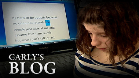 Unlocking Carly: Using one finger, autistic teen uses iPad, ...
