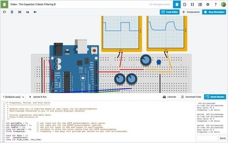 The easiest way to learn electronics and Arduino programming | 123D Circuits by Autodesk | Raspberry Pi | Scoop.it