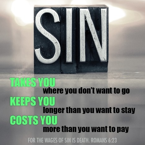 Sin | Christian Life | Scoop.it