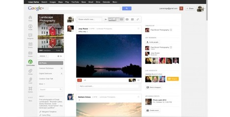 "Google+ introduit les ""Communautés"" - FrAndroid 