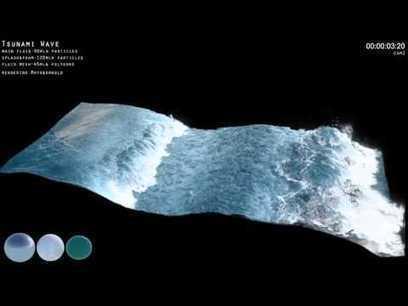 tsunami wave ocean simulation | Earth Changes | Scoop.it