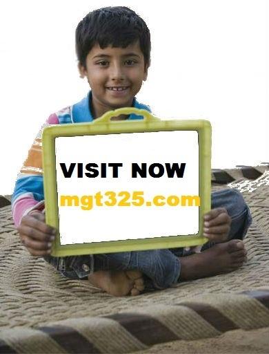 MGT 325 Week 5 Final Paper | MGT 325 ASH Course Tutorial(mgt325.com) | Scoop.it