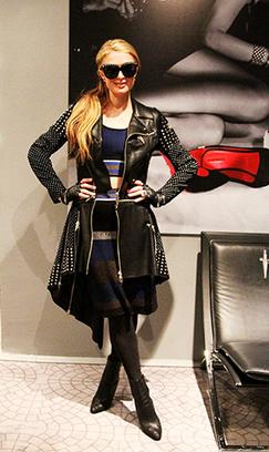 Paris Hilton wears Cesare Paciotti | Le Marche & Fashion | Scoop.it