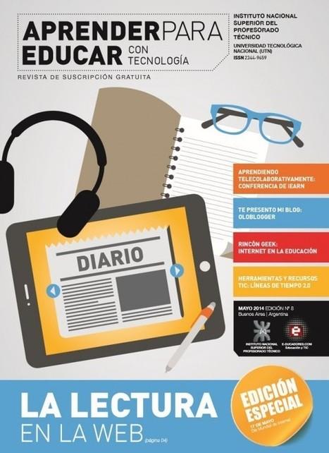 Nuevo número de la revista gratuita para educadores: Aprender para Educar | Docentes digitalizados | Scoop.it