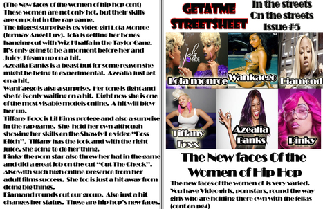 GetAtMe StreetSheet is in the streets......Get your copy now....... | GetAtMe | Scoop.it