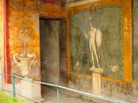 Ancient artwork in Pompeii, Italy that survived the Mt. Vesuvius 79 A.D. eruption   WAF   Movin' Ahead   Scoop.it