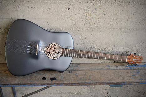 The World's First 3D-Printed Guitar | Random Ephemera | Scoop.it