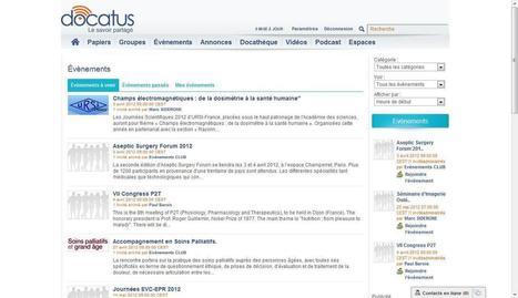 Docatus, le réseau social des professionnels de santé | ProMedis | Santé et Médias Sociaux | Scoop.it