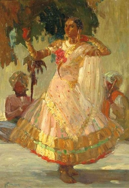 """Vintage Indian Clothing - Posts Tagged """"Nautch"""" 