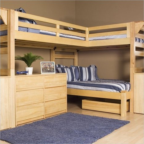 Woodworking For Everyone — Bunk Bed Plans - How To Choose The Right Style For... | woodworking | Scoop.it