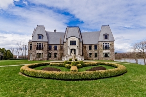 Majestic Mansion set on Private Island | ÎLE GAGNON, Montreal, QC | Masterplanned Communities | Scoop.it