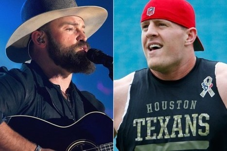 NFL Lineman JJ Watt Tackles Zac Brown Band Stage-Crasher [Watch] | Country Music Today | Scoop.it