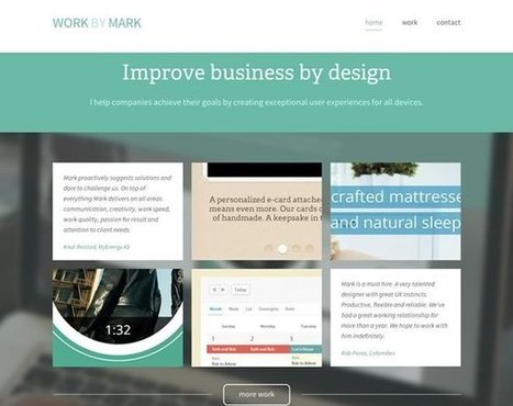 21 Examples of Beautiful Color Use in Web Design | ski areas management | Scoop.it