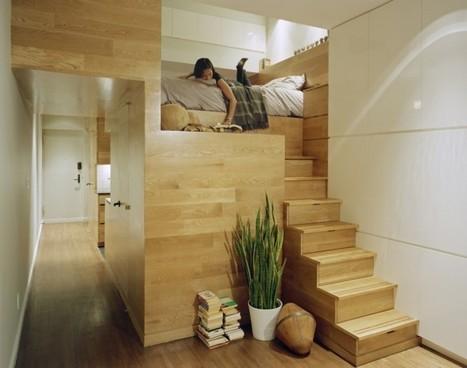 Smart small space solutions | Décorations en tous genres | Scoop.it