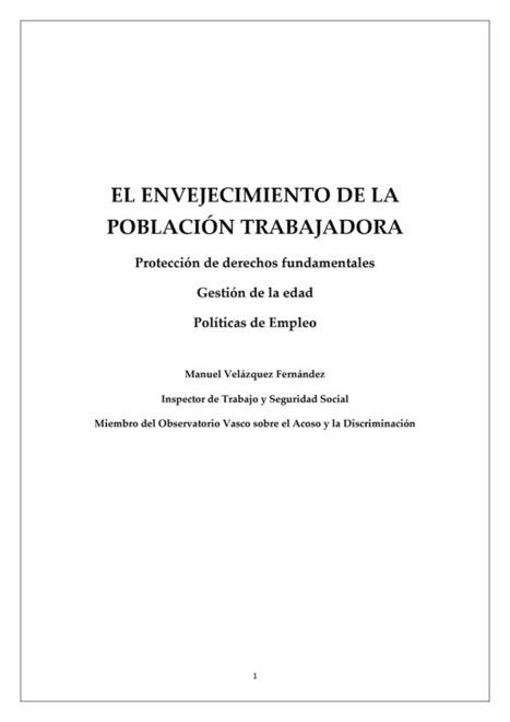 El-Envejecimiento-de-la-Población-Trabajadora-Manuel-Velázquez-2015.pdf | Golden Workers | Scoop.it