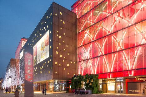 Vanke Plaza's glowing Christmas Eve grand opening | Woods Bagot | Scoop.it