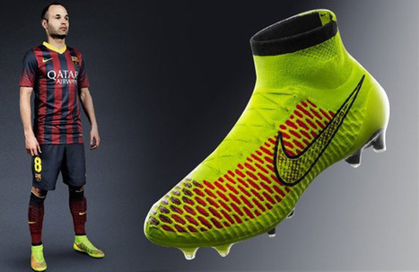 Nike lanza al mercado sus espectaculares 'botas chimpunes' | Deportes Tuteve.tv | NikeM | Scoop.it