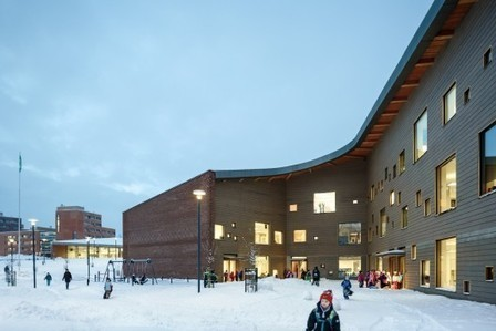 [Espoo, Finland] Saunalahti School / VERSTAS Architects | The Architecture of the City | Scoop.it