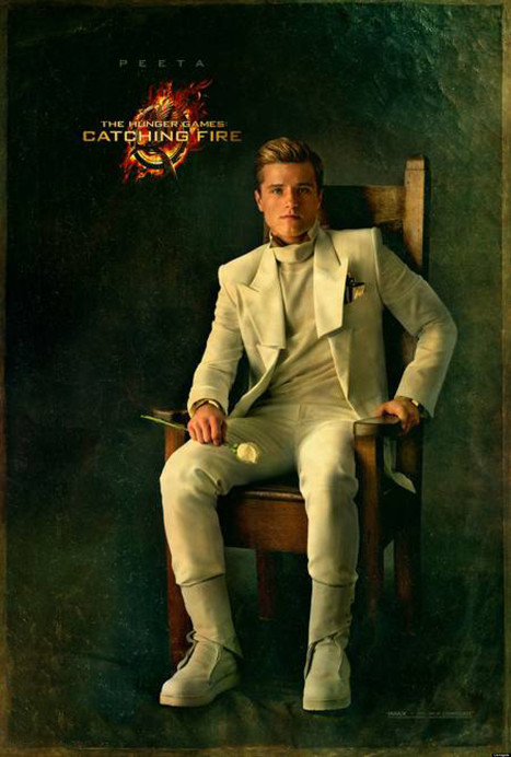 'Catching Fire' Portraits: Gale and Peeta Photos From 'Hunger Games' Sequel ... - Moviefone | Teen Library Makeovers and More | Scoop.it