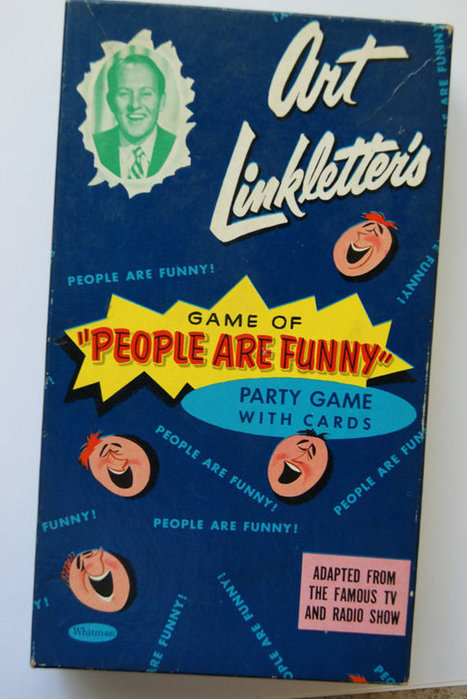Art Linkletter's People are Funny Game by ArtbyheatherSupplies | Antiques & Vintage Collectibles | Scoop.it