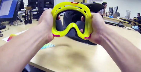 Goggles Prototyped with 3D Printing - 3D Printing Industry | 3D Printing Industry | Scoop.it