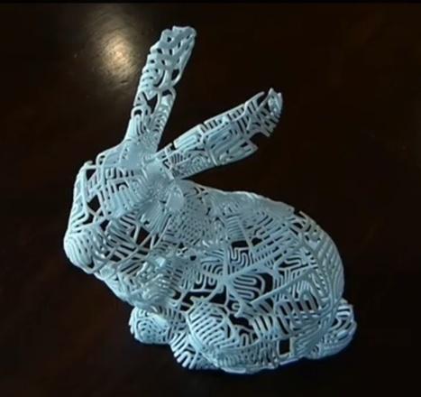 3ders.org - Expressing mathematics in 3D printed sculpture art | 3D Printer News & 3D Printing News | Technomathpr (Tecnología y Matemática) | Scoop.it