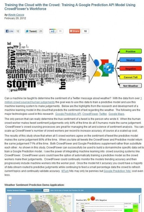 Training the Cloud with the Crowd   BI Revolution   Scoop.it
