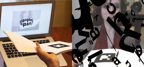 Augmented reality poetry book can only be read via webcam | The_storyFormula: story worlds & wearables! | Scoop.it