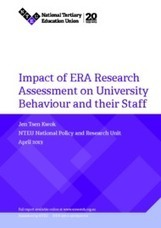 Impact of ERA Research Assessment on University Behaviour and their Staff | Higher Education Teaching and Learning | Scoop.it