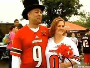 Louisville Fans Get Married At Pre-Game Tailgate - The Post Game (blog) | Wedding Ideas | Scoop.it